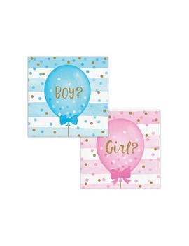 Gender Reveal Napkins / Gender Reveal Party, Baby Reveal, Team Boy Team Girl, Gender Reveal Decorations, Team Pink Team Blue, Baby Shower by Etsy