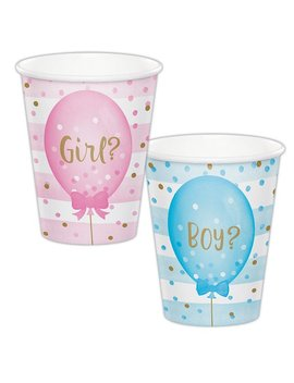 Gender Reveal Cups/ Gender Reveal Party, Baby Reveal, Team Boy Team Girl, Gender Reveal Decorations, Team Pink Team Blue, Baby Shower by Etsy