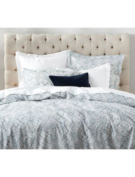 Briella Tile Print Organic Duvet Cover & Sham by Pottery Barn