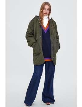 Water Resistant Quilted Coat  Coatswoman Sale by Zara