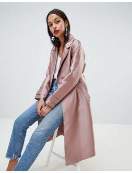 Asos   Trench Satiné by Asos Design