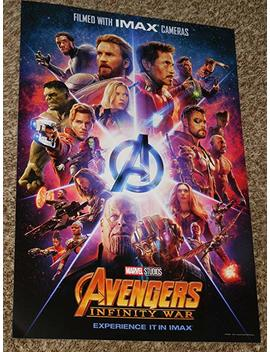 Avengers Infinity War Imax Poster 13x19 Inch Promo Movie Poster by Super Posters