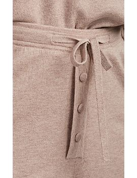 Cashmere Blend Jogger Pants by Live The Process
