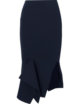 Lucca Stretch Knit Skirt by Roland Mouret