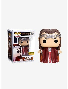 Funko The Lord Of The Rings Pop! Movies Elrond Vinyl Figure Hot Topic Exclusive by Hot Topic