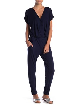 Colleen Skinny Cuffed Jumpsuit by Young Fabulous & Broke