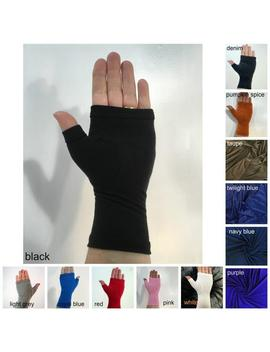 Bamboo Wrist Warmers, Fingerless Gloves. by Etsy