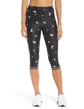 Bows Power Pant Crop Leggings by The Upside