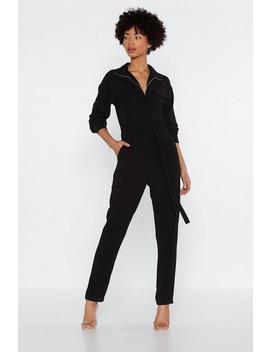 Zipped Up Boilersuit by Nasty Gal
