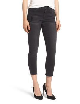 Seamless Frayed Ankle Skimmer Jeans (Nordstrom Exclusive) by Wit & Wisdom