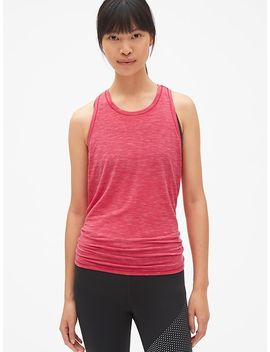Gap Fit Breathe Open Back Tank Top by Gap