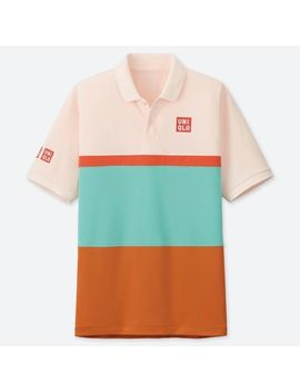 Men Kei Nishikori Dry Ex Polo Shirt 19 Aus by Uniqlo