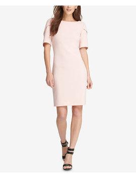 Puff Sleeve Sheath Dress, Created For Macy's by Dkny