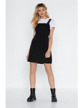 All On Cord Pinafore Dress by Nasty Gal