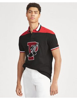Classic Fit P Wing Mesh Polo by Ralph Lauren