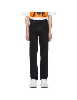 Black Narrow Jeans by Calvin Klein Jeans Est. 1978