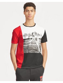 Active Fit Javelin Graphic Tee by Ralph Lauren