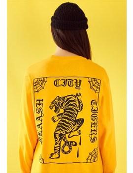 Lucky Stripe Longsleeve T Shirt by Flaash Apparel