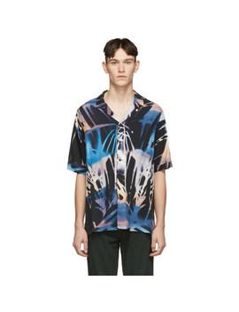 Black Palms Resort Shirt by Ksubi