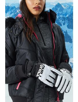 Active Chill Graphic Winter Gloves by Forever 21
