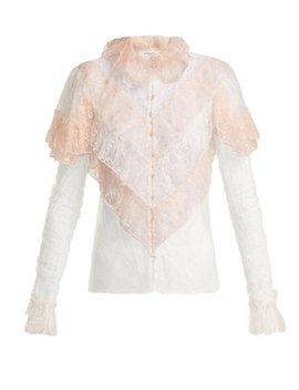 Ruffled Lace Blouse by Rodarte