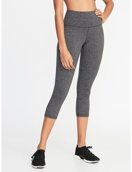 High Rise Elevate Tech Performance Crops For Women by Old Navy