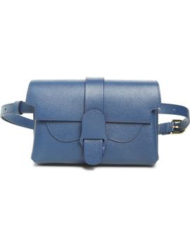Aria Pebbled Leather Belt Bag by Senreve