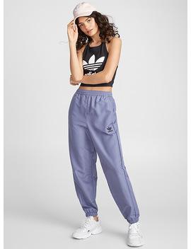 Le Pantalon Nylon Lilas by Adidas Originals