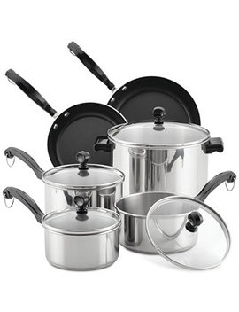 Classic Series 12 Pc. Stainless Steel Cookware Set by Farberware