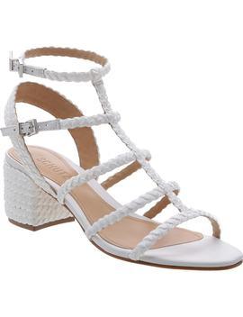 Rosalia Block Heel Sandal by Schutz