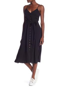 Juliet Front Button Midi Dress by Tart
