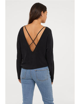 Cupro Blend Blouse by H&M