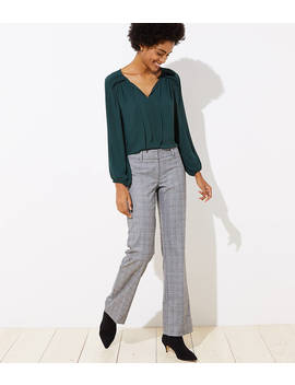 Trousers In Plaid In Marisa Fit by Loft