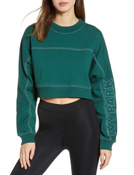 Stab Stitch Logo Crop Sweatshirt by Ivy Park®