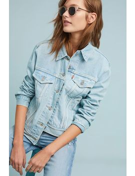 Levi's Ex Boyfriend Denim Trucker Jacket by Levi's