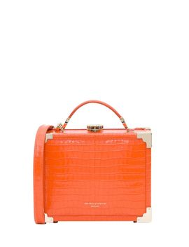 Aspinal Of London Mini Trunk Crossbody Bag by Aspinal Of London