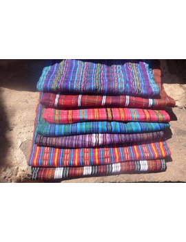 Colourful Guatemalan Scarves by Etsy