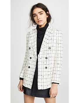 Plaid Tweed Jacket by Rebecca Taylor