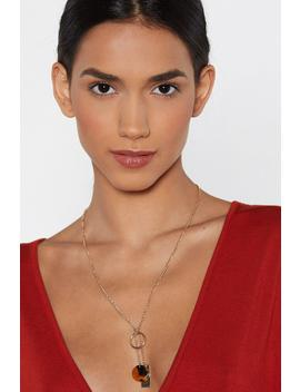Tag Your It Charm Necklace by Nasty Gal