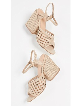 Verane Woven Heeled Sandals by Paloma Barcelo