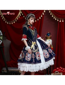 Uwowo Original Design Coronation Of 18 Brumaire Op Dress Women Lolita Dress Cosplay Costume Women Cosplay Costume  by Wowo U