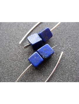 Lapis Earrings. Cobalt Blue Earring. Lapis Lazuli Jewelry. by Etsy