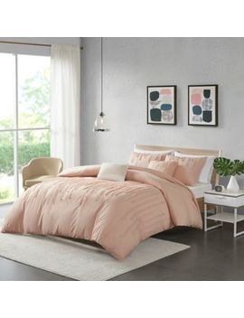 Urban Habitat Paloma Twin/Twin Xl Duvet Cover Set In Blush by Bed Bath And Beyond