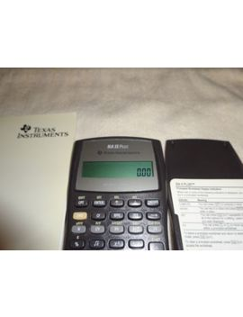 Texas Instruments Ba Ii Plus Financial Calculator by Texas Instruments