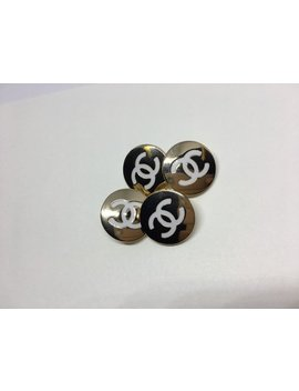 4 Cc Designer Buttons by Etsy