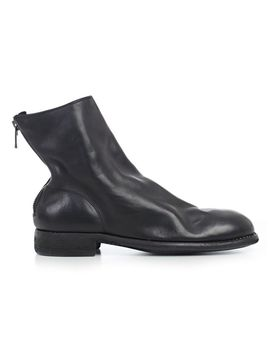 Guidi Rear Zip Ankle Boots by Guidi