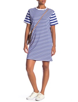 Variegated Stripe Dress by Cotton Emporium