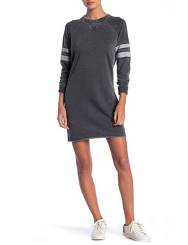 Raglan Sleeve Sweatshirt Dress by Alternative