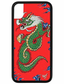 Wildflower Limited Edition I Phone Case For I Phone Xr (Red Dragon) by Amazon