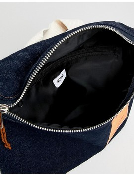 Weekday Limited Edition Wisconsin Crossbody Bag In Denim by Weekday